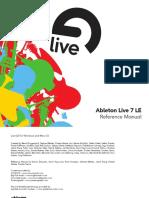 Ableton Live 7 Le Manual En