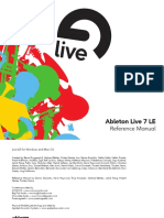 Ableton Live 7 Le Manual En