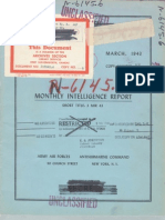 U-Boat Monthly Report - Mar 1943