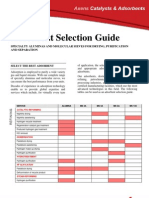 AXENS - Adsorbent Selection Guide