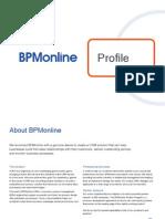 Discover BPMonline CRM