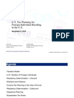 13 Tax Planning for Foreign Nationals in TheU.S.
