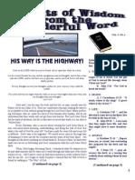 MarchTid Bits of Wisdom 2011 Press