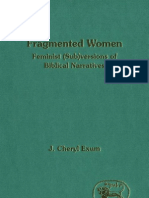 JC Exum - Fragmented Women Feminist (Sub)Version of Biblical Narratives (JSOTSupp 163, 1993)