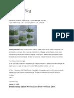 Bioteknologi Dan Teknologi Reproduksi