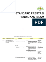 Standard Prestasi Pendidikan Islam Tahun 1 KSSR (Terbaru)