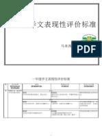 Standard Prestasi Bahasa Cina Tahun 1 KSSR (Terbaru)