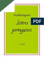 Guilleragues Alcoforado Lettres Portugaises 1669