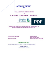 Standard Chartered Products Marketing