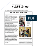 The AFS Press (April '11)