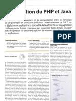l'intégration du php et java