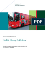 Mobile Libraries Guidelines IFLA