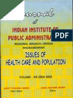 Orissa Disease Profile