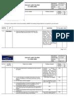 2nd Internal Audit Results