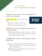 ΕΛΠ 21 - ELP21 Σημειώσεις - Περιλήψεις Κεφάλαιο Κεφάλαιο Α3