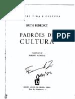 6343698 Padroes de Cultura Ruth Benedict