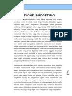 Makalah Beyond Budgeting