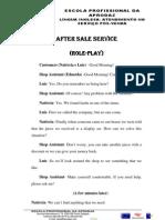 Trabalho de Grupo- After Sale Service
