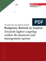 Meszarits Seiwald WP2008 Budgetary Reform in Austria