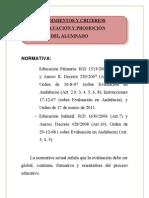 PROCEDIMIENTOS Y CRITERIOS DE EVALUACIÓN paqui