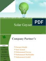 Solar Geyser2