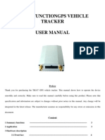 TK107 GPS Vehicle Tracker User Manual