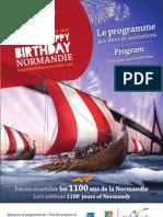 Anniv Normandie Brochure