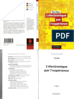 L Lectronique Par L Experience - Dunod - Pierre May - Edt Mars 2004 By