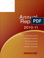 NASSCOM Annual Report 2010-11