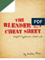 Blender Cheat Sheet
