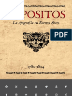 "Ares, Fabio Eduardo. ""Expósitos. La Tipografia en Buenos Aires. 1780-1824"""
