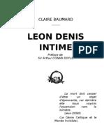 Léon Denis intime de Claire Baumard