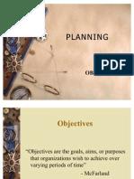Planning II Obj