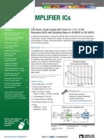 Amplifier ICs Bulletin