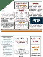 Angies RibWagon Menu 2010 PDF