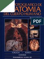 Atlas Fotografico de Anatomia Del Cuerpo Humano - Yokochi