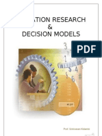 Operation Research & Decision Models Edited (1)