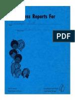 MY ALGER ELEMENTARY PROGRESS REPORTS, 1976-77, GRAND RAPIDS, MICHIGAN