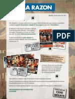 Promoción Cine Bélico - La Razón