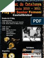 2011-05-21 Cartell Playoff Senior Femeni Castellbisbal