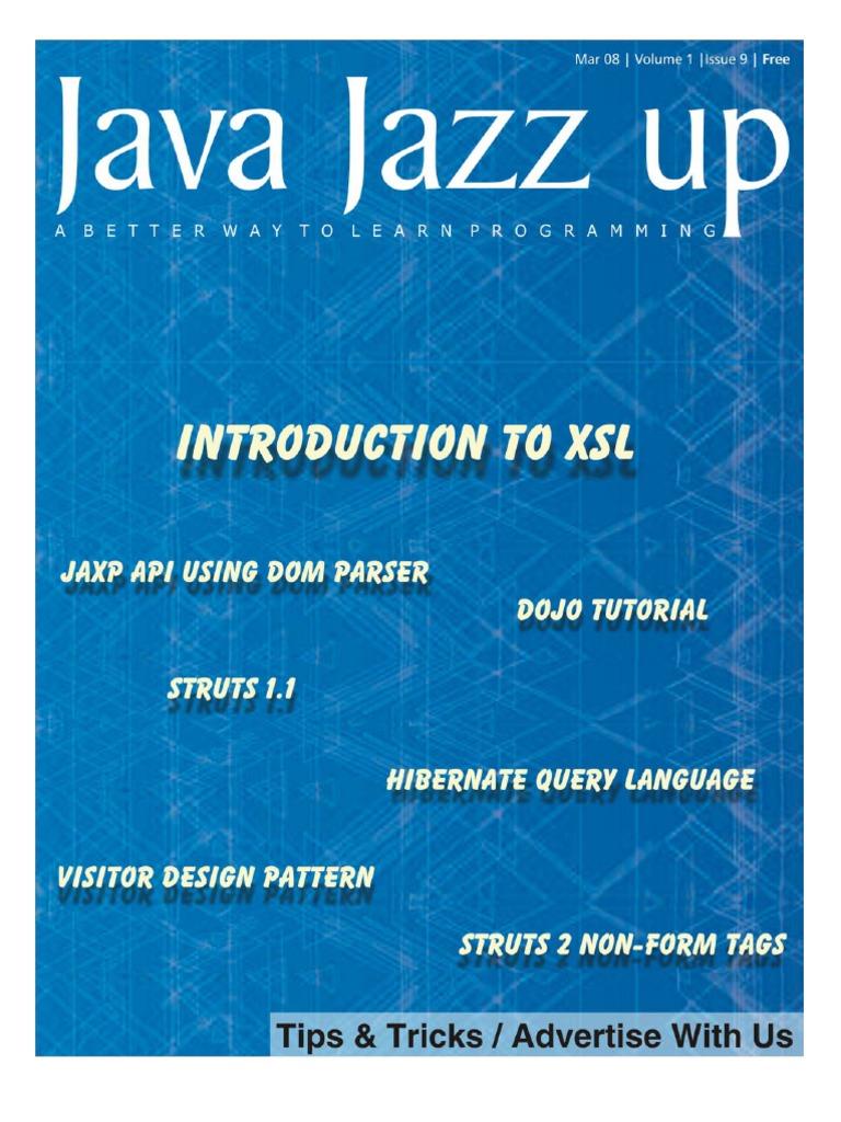 Java Jazz Up Xslt Enterprise Java Beans