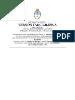 Version Taquigrafica Sesion Senado 4-5-11 Residuos de Aparatos Eléctricos y Electrónicos RAEE