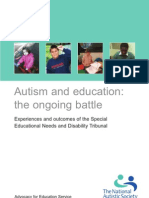 Autism and Education-The Ongoing Battle