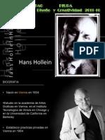 Taller de Diseño - ARQ. HANS HOLLEIN  FAUA UPAO PIURA