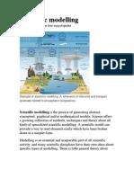 Scientific Modelling Worksheet