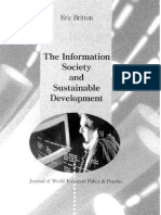Information Society and Sustainable  Development