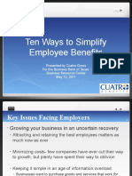 10 Ways to Simplify Employee Benefits