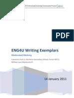 ENG4U Exemplars