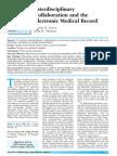 Interdisciplinary Nursing Documentation