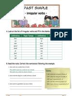 Past Simple - Irregular Verbs
